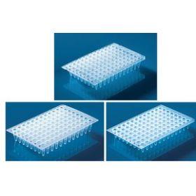 PCR-plaat 96-well 0,2ml, PP, verhoogde rand, naturel