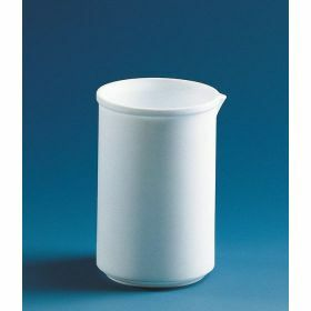 Beker, lage vorm, PTFE 25 ml, zonder graduatie