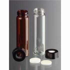 Vial 40ml - helder glas met schroefdraad