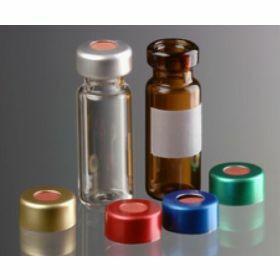 Crimptop alucap zilver D11mm + rubber/ETFE-septa