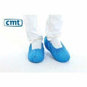 CMT CPE Overschoenen Blauw 36x15cm 30micron Geruwd
