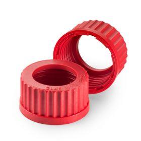 Schroefstop rood in PBT GL18 + opening D11mm