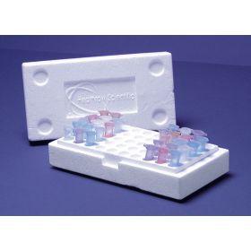 Isomo box +deksel voor 50 cups 1,5ml-2ml