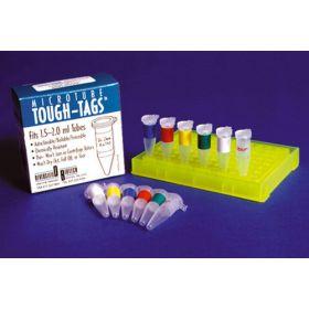 Etiket wit 24x13mm voor cups 0,5ml - 1000 labels