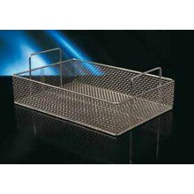Inox tray 360x260x80mm,met handvatten.