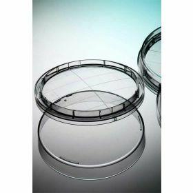 Contactplaat D65mm,vlakke bodem,clipdeksel,steriel