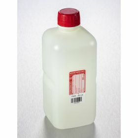 Fles 1000ml HDPE met Na-thiosulfaat 20mg/l, steriel, shaped seal schroefstop