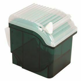 Parafilm dispenser in ABS met cutter, groen