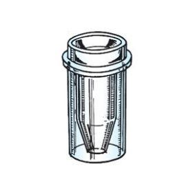 Sample cup 0,5ml conisch.