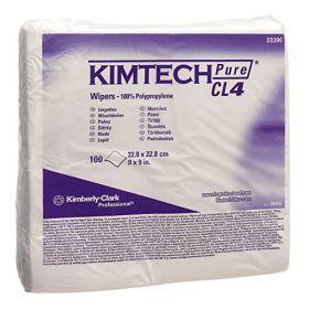 Kimtech Pure W4 poetsdoeken droog 22,8 x 22,8cm
