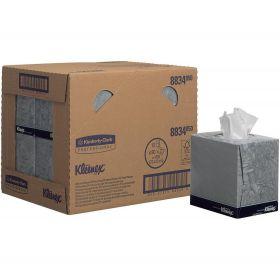 Facial Tissue Kubus Kleenex, wit, 2-laags, 21x20cm