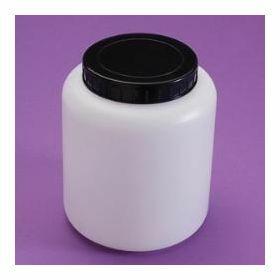 Pot met brede opening 250 ml met schroefstop en interne indrukstop.