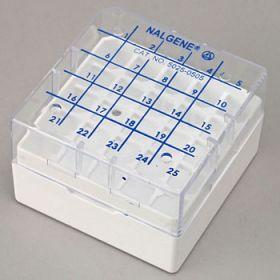 cryobox voor 5x5 cryovials 1.2-2ml (per 8 stuks)