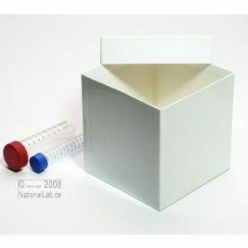 Cryobox Alpha H130mm 136x136mm - wit -  hydrofoob karton zonder raster