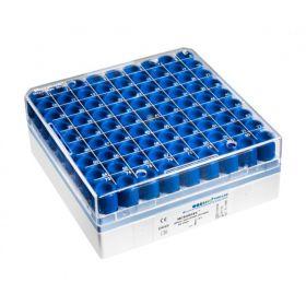 MICROBANK parels blauw per 80t.