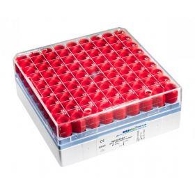 MICROBANK parels rood per 80t.