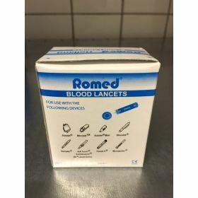 Romed Bloedlancet - blauw