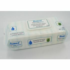 Romed patientendoekjes 64st per pak (aloe vera)