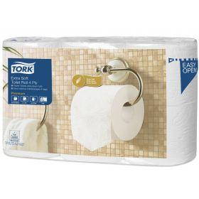Toiletpapier-4L-TORK Premium extra soft ,150v.