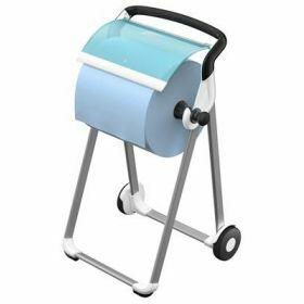 Tork floorstand mobile wit/Turquoise