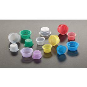vacucap geel voor tubes D16mm