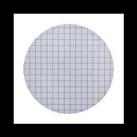 ME24/21 steriele membraanfilter wit/zwart raster 0,2µm D47mm