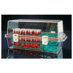 Bio-carrier met tray, PC, 370x185x173mm
