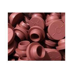 Butyl stopjes rood voor vials D20mm