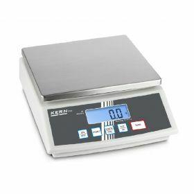 Kern Tafelweegschaal inox FCB 12K1 - 12kg, precisie: 1g