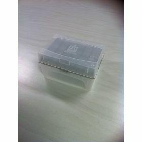 NEW Tip-Box leeg vr.20µl tips grijs+rekje z.tips