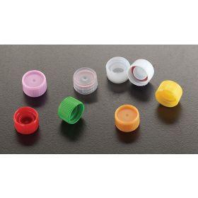 Schroefstop + O-ring voor capinsert, wit, voor micrewtube