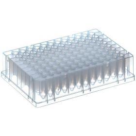 Midwellplaat 96-round well V-bodem 0,8ml