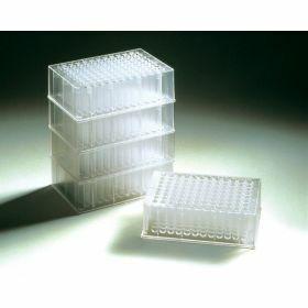 Deepwell-plaat 2,2 ml (vierkant, ronde bodem) polypropyleen, steriel - Treff