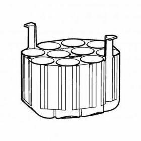 Eppendorf SET: 2 Adapters 10x50ml conisch voor rotor Universal-Large