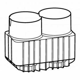 Eppendorf SET: 2 Adapters 2x fles 250ml  en 175-225ml conische tubes voor rotor Universal-Large