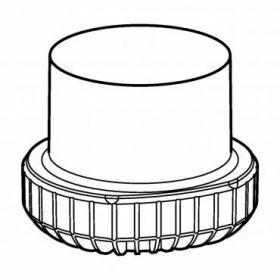 Eppendorf SET: 2 Adapters 1x conische fles Corning 500ml  voor rotor Universal-Large