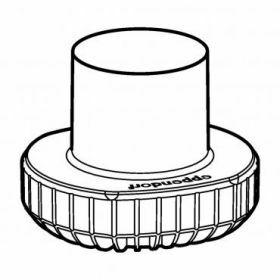 Eppendorf SET: 2 Adapters 1x fles Nalgene 500ml voor rotor Universal-Large