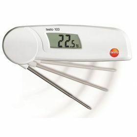 Testo 103 Voedselthermometer met uitklapbare spits, 220°C