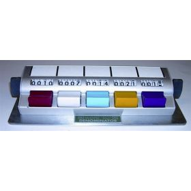Denominator teller - multiple tally 5 toetsen - zonder totaal