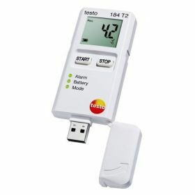 Testo 184-T2 USB temperatuur datalogger met display, 150 dagen, 70°C