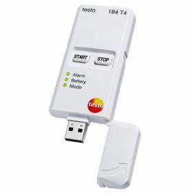 Testo 184-T4 USB temperatuur datalogger, onbeperkte gebruikstijd, -80°C -> 70°C