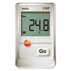 Testo 174T SET - USB interface, houder, batterijen, 70°C