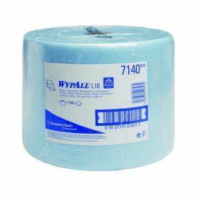 Wypall L10 Extra poetsdoeken ,blauw, rol (1500d.) 1-laags