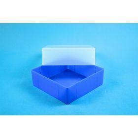 Eppi67 box PP H64mm, geen raster, neon-blauw