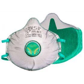 BLS Zer0 30 cupmasker FFP3 Nano - ventiel - gedeeltelijke dichting