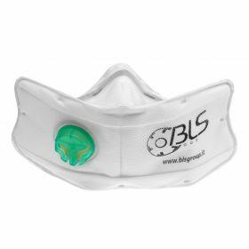 BLS 860 vouwmasker FFP3 Nano - ventiel
