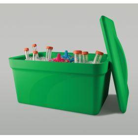 Ice Pan 9 liter -  groen - met deksel