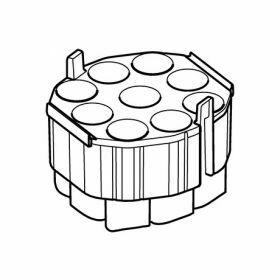 Eppendorf Set: 2 Adapters 9x 50ml/1x microplate voor S-4xUniversal