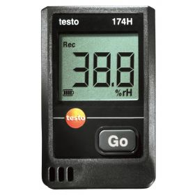 Testo 174 H Set - Mini-datalogger voor temperatuur en luchtvochtigheid, 70°C