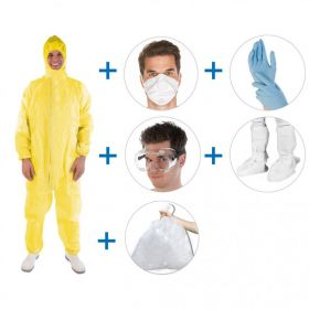 Virusbeschermingsset SUPER HOOG RISICO (7st/set)